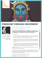Freedom through Movement One month immerse-in-yoga with Bex Tyrer