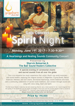 Gala Concert Spirit Night with Shervin Boloorian and The Bali Sound Healers Collective