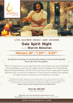 Gala Sprit Night with Shervin Boloorian