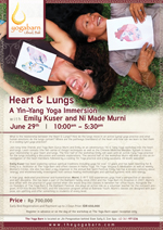 Heart and Lungs – A Yin Yang Yoga Immersion