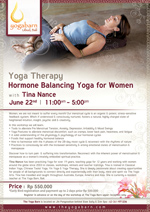 Yoga Therapy Hormone Balancing Yoga for Women