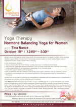 Hormone Balancing Yoga for Women With Tina Nance