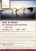 How to Rock! Arm Balances and Inversions Workshop
