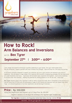 How to Rock! Arm Balances and Inversions with Bex Tyrer