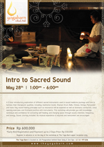 Intro to Sacred Sound with Shervin Boloorian