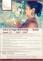 Intro to Yoga Workshop with Estee