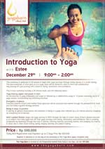 Introduction to Yoga Workshop With Estee