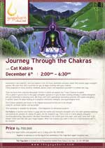 Journey through the Chakras With Cat Kabira