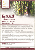 Kundalini Yoga Immersions