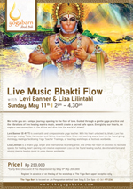 Live Music Bhakti Flow