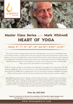 Master Class Series: Heart of Yoga with Mark Whitwell