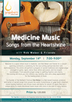 Medicine Music Songs from the Heartshrine with Rob Webber & Friends