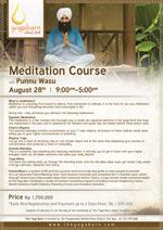 Meditation Course with Punnu Wasu