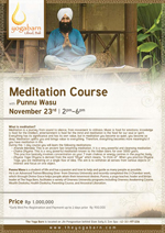 Meditation Course