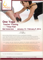 One Yoga Teacher Training with Tanya Kaps