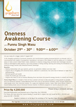 Oneness Awakening Course with Punnu Singh Wasu