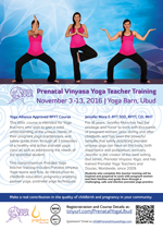 Prenatal Vinyasa Yoga Teacher Training 