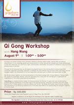 Qi Gong Workshop with Hang Wang