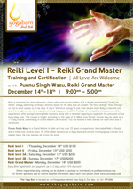Reiki Level 1- Grand Master Training and Certification
