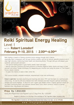 Reiki Spiritual Energy Healing Level 1
