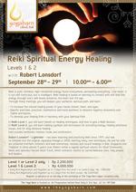 Reiki Spiritual Energy Healing Levels 1 and 2 with Robert Lonsdorf