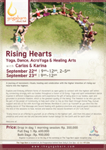 Rising Hearts | Yoga, Dance, AcroYoga