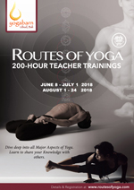 ROUTES OF YOGA: 200 hour Yoga Teacher Training 