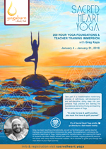 Sacred Heart Yoga 200 Hour Yoga Foundations and Teacher Training Immersion