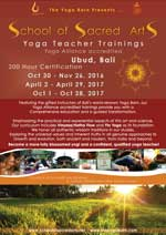 School of Sacred Arts Yoga Teacher Training Yoga Alliance accredited 200 Hour Certification