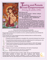 Tantra Female Sexual Empowerment