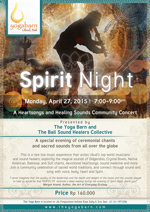 Spirit Night  with The Yoga Barn and The Bali Sound Healers Collective
