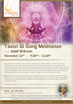 Taoist Qi Gong Meditation with Adolf M Brown