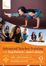 The Forrest Yoga Advanced Teacher Training 