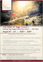 Embody Yoga August Immersion Series: The Heart of Yoga – Module 2
