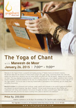 The Yoga of Chant