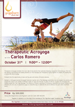 Therapeutic Acroyoga with Carlos Romero