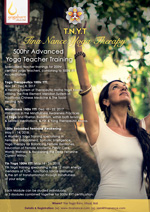 TNYT 500hr RYT Advanced Yoga Teacher Training