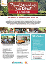 Tropical Bikram Yoga Bali Retreat