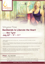 Vinyasa Flow - Backbends to liberate the Heart