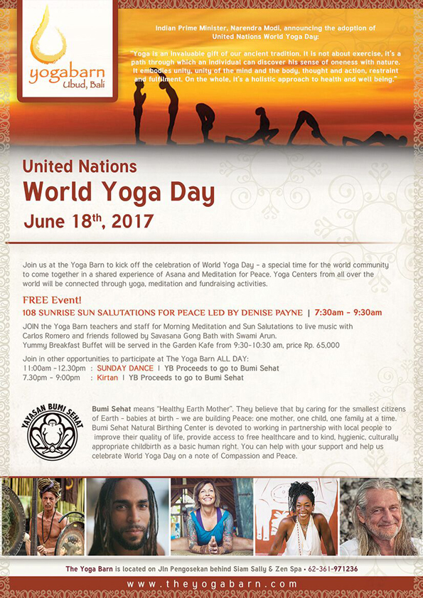 world yoga day june 2017