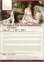 Yin Yoga and The Art of Mindfulness with Tina Nance