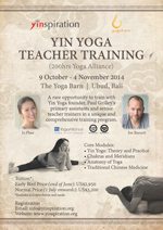 Yin Yoga Teacher