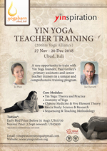 YINSPIRATION Yin Yoga 200 Hour Yoga Alliance Teacher Training 