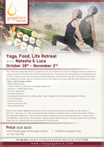Yoga, Food, Life Retreat