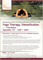 Yoga Therapy - Detoxification