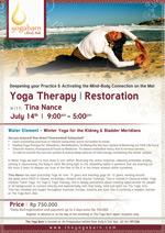 Yoga Therapy | Restoration with Tina Nance