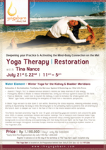 Yoga Therapy- Restoration