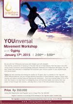 YOUinversal Movement Workshop