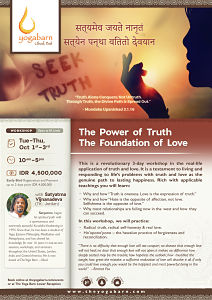 The Power of Truth The Foundation of Love with Satyatma Vijnanadeva (TK. Jordan)