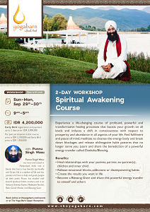 2-Day Spiritual Awakening Course with Punnu Singh Wasu